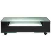 table tele 125x40x407 marais lumineuse en verre trempe coltvl