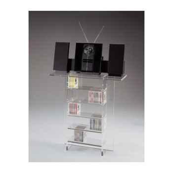 Console Marais pour CD en PMMA -MC300
