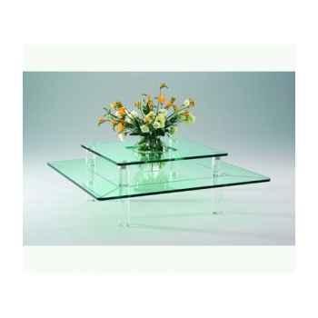 Table basse carrée Marais -MTB110