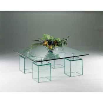 Table basse carrée Marais -MT280