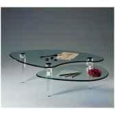 table basse marais a pieds coniques en pmma mt235