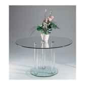 table repas diam110 marais avec pieds cylindriques mh31sp11