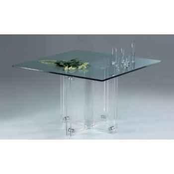 Piètement de table repas Marais en PMMA -MH30P