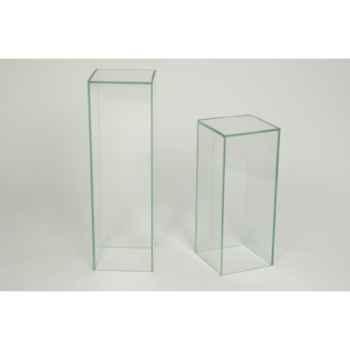 Colonne Marais en verre 25x25x60 -CP1