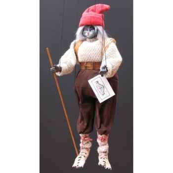 Marionnettes de France à Fils Chat montagnard -FM401P06