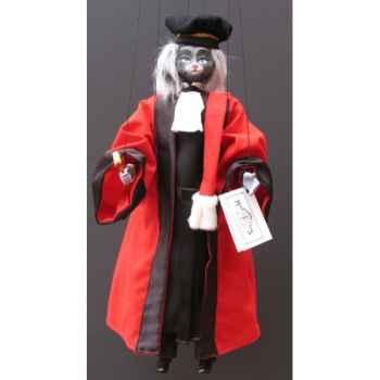 Marionnettes de France à Fils Chat juge -FM401P18