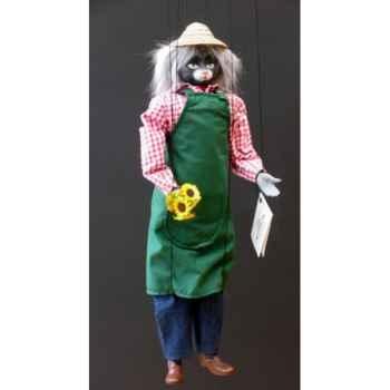 Marionnettes de France à Fils Chat jardinier -FM401P27