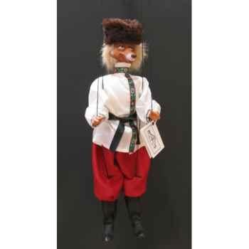 Marionnettes de France à Fils Renard russe -FM402P04