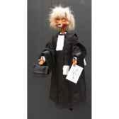 marionnettes de france a fils renard avocat fm402p10