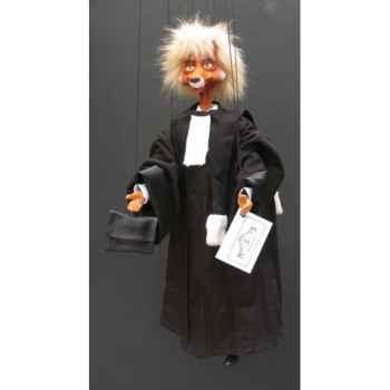 Marionnettes de France à Fils Renard Avocat -FM402P10