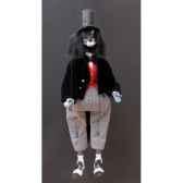marionnettes de france a fils loup soiree noir fm403p02no