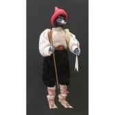 marionnettes de france a fils loup montagnard fm403p06