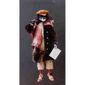 marionnettes de france a fils loup vagabond fm403p07