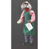 marionnettes de france a fils hippopotame jardinier fm407p27