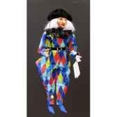 marionnettes de france a fils arlequin bleu fm413p13bl