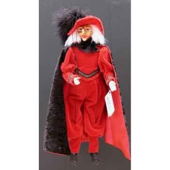 Marionnettes de France à Fils Comédia rouge -FM413P14RO