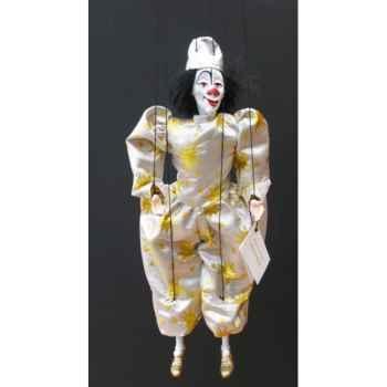 Marionnettes de France à Fils Clown blanc -FM414P15