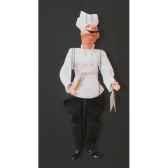 marionnettes de france a fils cochon cuisinier fm418p29