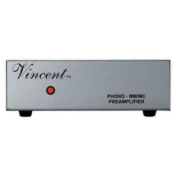 Préamplificateur Vincent PHO-111 Préampli phono MM-MC - Argent - 203326