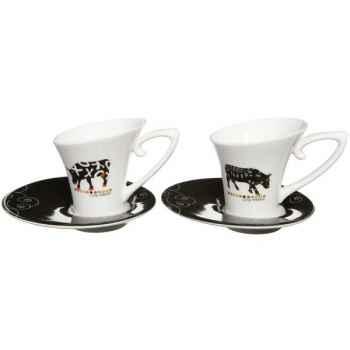 Torchon en coton Vache Black Cow -blckTOCL
