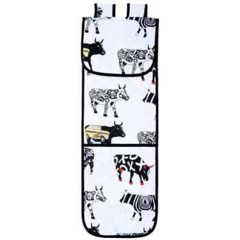 Tablier cuisine en pvc Vache Black Cow -blckTPL