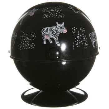 Cabas petit modèle Vache Black Cow -blckSP5L