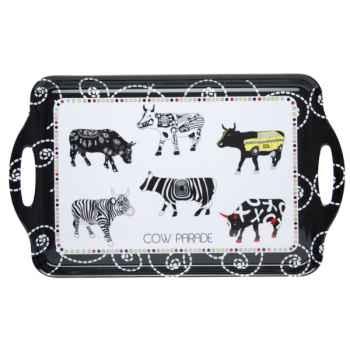 Plateau avec poignées Vache Black Cow -blckPPL