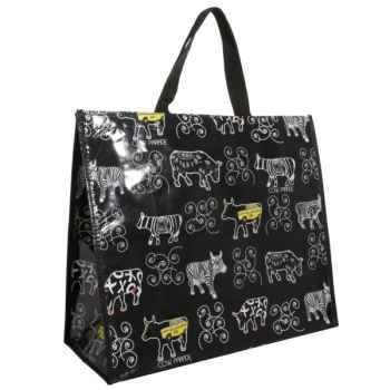 Coffret déjeuner 2 tasses en porcelaine Vache Black Cow -blckDEJL