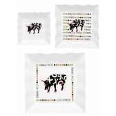 coffret 2 tasses a cafe en porcelaine vache black cow blcktasl