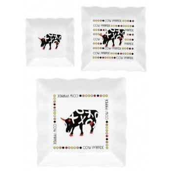 Coffret 2 tasses à café en porcelaine Vache Black Cow -blckTASL