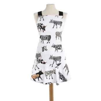 Valisette Moka en porcelaine Vache Black Cow -blckVALL