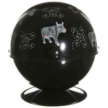 Boule à sucre noire Vache Black Cow -blckBOSL