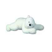 peluche ours polaire dormeur 130cm les petites marie