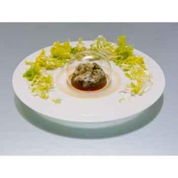 2 Assiettes SiloDesign en porcelaine 30 cm -Topograph30