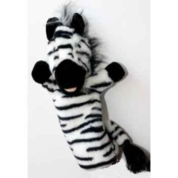 Marionnette à main The Puppet Company Zêbre noir et blanc -PC006039