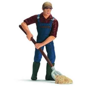 Figurine Fermier Schleich -13451