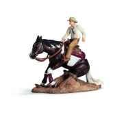 figurine set d equitation western schleich 42036
