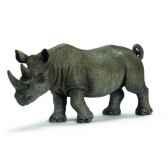 figurine rhinoceros noir male schleich 14394