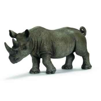 Figurine Rhinocéros noir mâle Schleich -14394