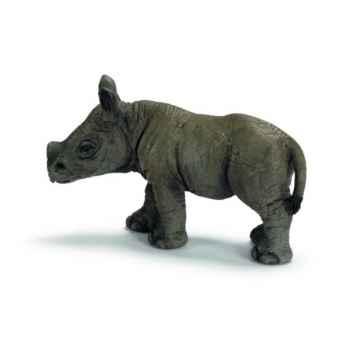 Figurine Rhinocéros noir bébé Schleich -14395