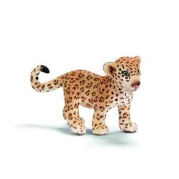 Figurine Bébé léopard Schleich -14399