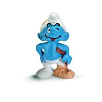 Figurine Schtroumpf béquille Schleich -20709