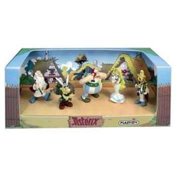 Figurine Plastoy Coffret Astérix n°4 - 5 figurines - 60852