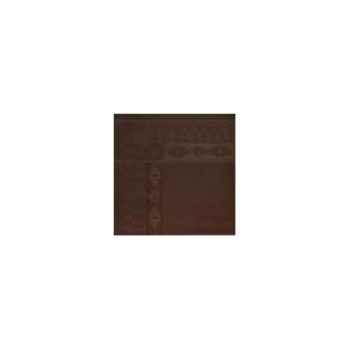 Nappe St Roch rectangulaire Salomée Chocolat -35