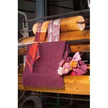 Nappe St Roch rectangulaire Sonate Prune -65