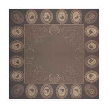 Nappe rectangulaire St Roch Sixtine Platine -19