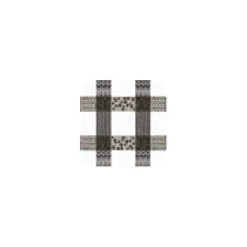 Nappe St Roch rectangulaire Patchpop gris 160x250 -91