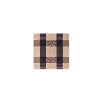 Nappe St Roch rectangulaire Patchpop noir 160x250 -99
