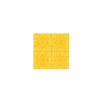 Nappe rectangulaire St Roch Quadrille soleil 160x200 -22