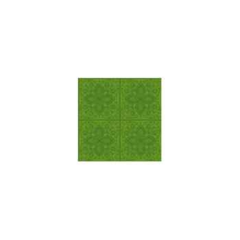 Nappe St Roch maxi rectangulaire Quadrille anisé 160x300 -80